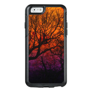 Ever After, Trees Silhouette Purple Orange Red Sky OtterBox iPhone 6/6s Case