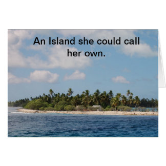 Ever feel like you want to get away? card