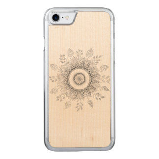 Ever-growing Mandala Carved iPhone 7 Case