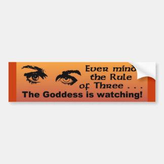 Ever Mind The Rule Of Three Bumper Sticker