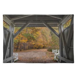 Everatt Road Covered Bridge Placemat