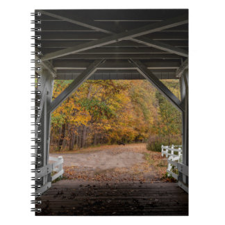 Everatt Road Covered Bridge Spiral Notebook