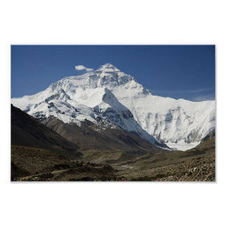 Everest Base Camp Himalayas Nepal Poster