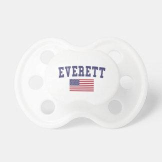 Everett WA US Flag Dummy