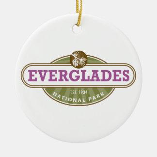 Everglades National Park Ceramic Ornament