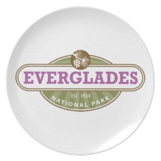 Everglades National Park Plates