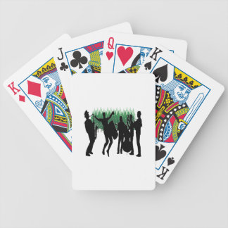 Evergreen Blues Bicycle Playing Cards