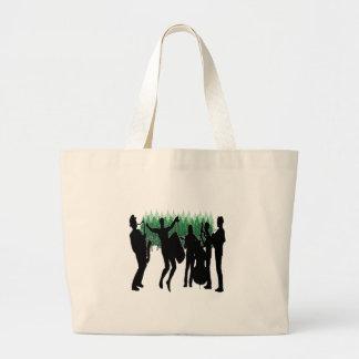 Evergreen Blues Large Tote Bag