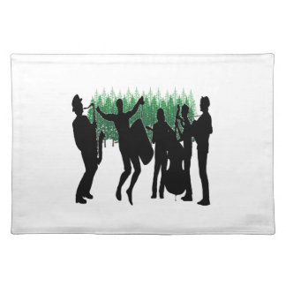 Evergreen Blues Placemat