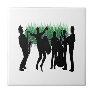 Evergreen Blues Tile