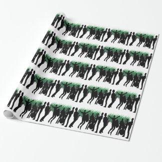 Evergreen Blues Wrapping Paper