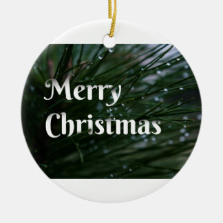 Evergreen Christmas Ornament