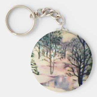 Evergreen Key Chain