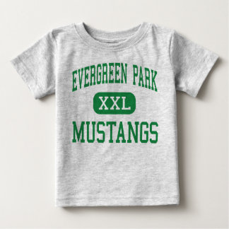 Evergreen Park - Mustangs - Evergreen Park Baby T-Shirt