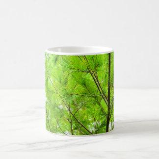 Evergreen photo mug