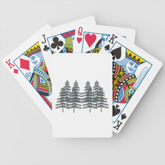 Evergreen Pleasures Bicycle Playing Cards