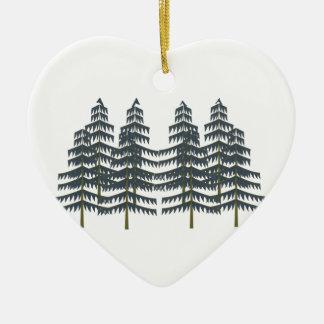Evergreen Pleasures Ceramic Ornament