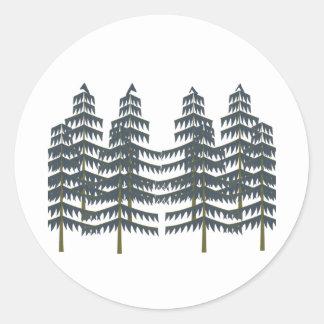 Evergreen Pleasures Classic Round Sticker
