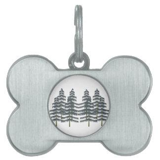 Evergreen Pleasures Pet ID Tag