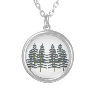Evergreen Pleasures Silver Plated Necklace