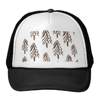 Evergreen trees hat