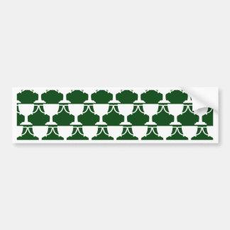 Evergreen Victorian Lace Bumper Sticker