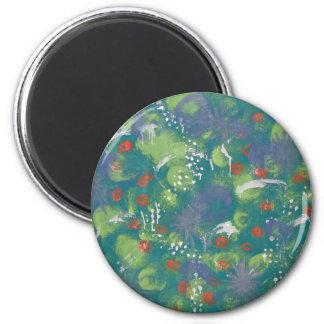 Evergreen Wish 6 Cm Round Magnet