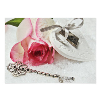 Everlasting love 13 cm x 18 cm invitation card