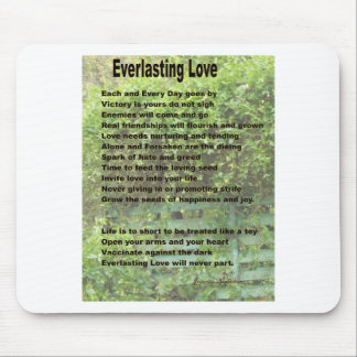 Everlasting Love Mouse Pads