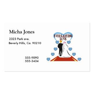 Everlasting Love Wedding Pack Of Standard Business Cards