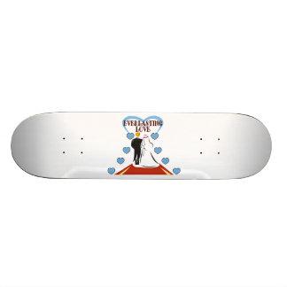 Everlasting Love Wedding Skateboards