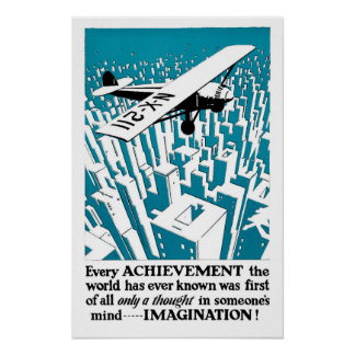 Every achievement begins with... IMAGINATION! Poster