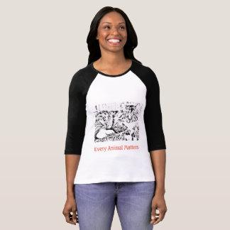 Every Animal Matter Cat Raglan T-shirt