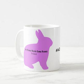 Every bunny needs some bunny pink coffee mug