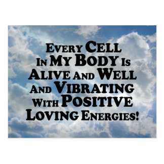 Every Cell In My Body- Multi-Products Postcard