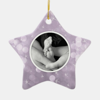 """""""Every child..."""" Quote Personalized Star Ornament"""