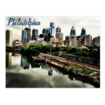 Every cities skyline... Philadelphia Postcard