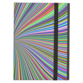 Every Color in the Crayon Box Spiral Swirl Optical Case For iPad Air