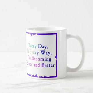 Every Day Better & Better Basic White Mug
