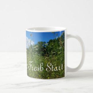 """Every Day is a Fresh Start"" Coffee Mug"