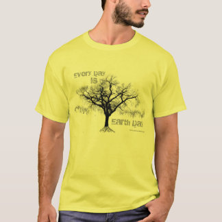 Every Day is Earth Day (gray) T-Shirt
