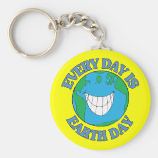 Every Day is Earth Day Keychain