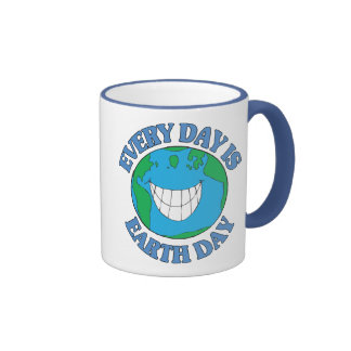 Every Day is Earth Day Coffee Mugs