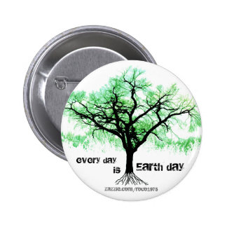 Every Day is Earth Day Pinback Button