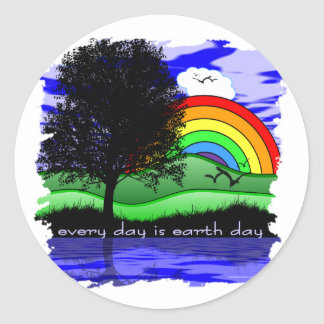 Every Day is Earth Day Stickers