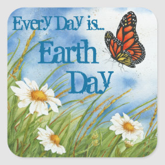 Every Day is Earth Day! - Sticker