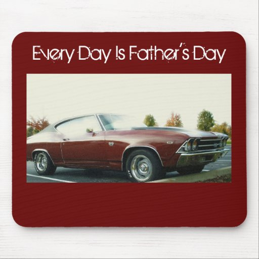 Every Day is Father's Day, Burgundy Super Sport Mouse Pads