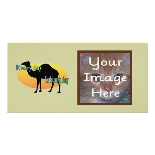 Every Day is Hump Day Picture Card