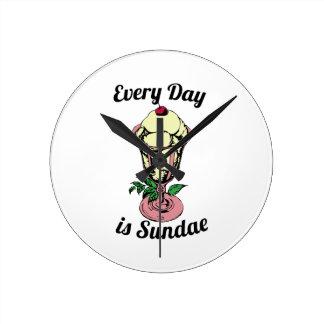 Every Day is Sundae Clocks