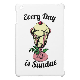 Every Day is Sundae iPad Mini Covers